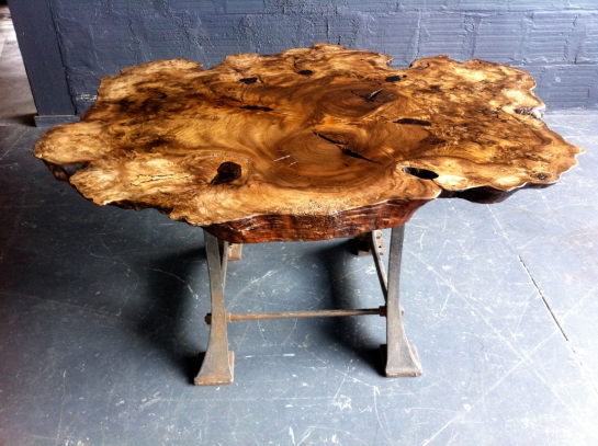 Myrtle Wood Table - 1