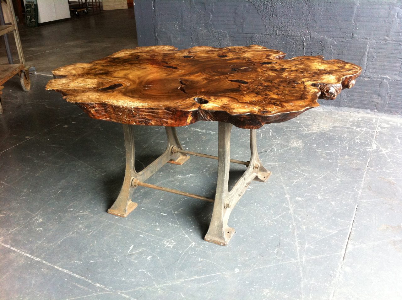 myrtle wood table